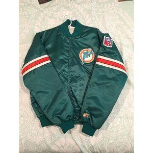 Vintage 1980's Starter Pro Line Miami Dolphins NFL